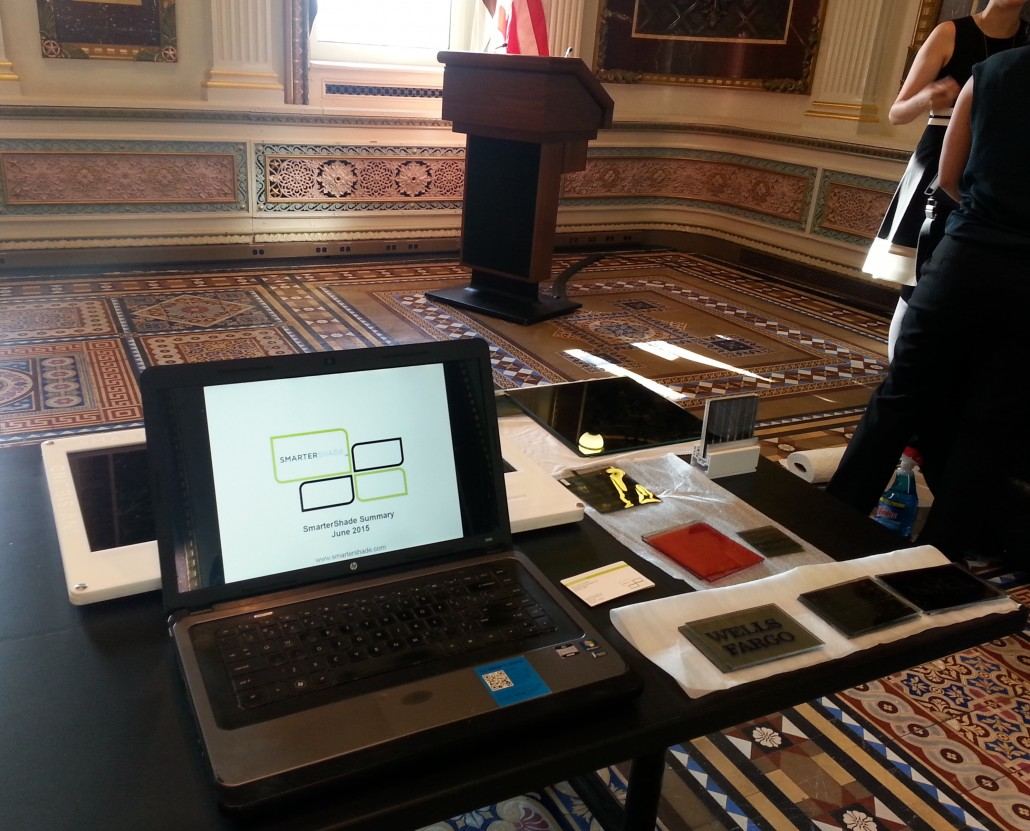 SmarterShade Tech Demo at WH